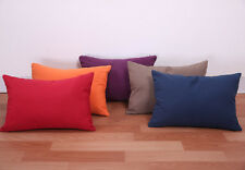 """17x12"""" Home Decorative Throw Pillow Case Cushion Cover Car Suede Seat Sofa Solid"""
