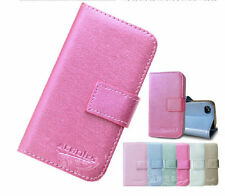 Luxury Magnetic Flip Leather Wallet Case Stand Cover For Various HTC Cellphones
