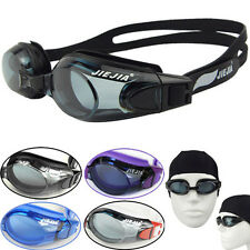 New Waterproof Fog Packed Women's/Men's Swim Goggles&Cap for Water Sports