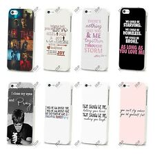 NEW JUSTIN BIEBER MUSIC POP SONG LYRICS HARD CASE COVER FOR APPLE IPHONE 4 5 5S