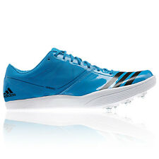 Adidas Adizero Long Jump 2 Men Blue Breathable Track Field Spikes Shoes Trainers