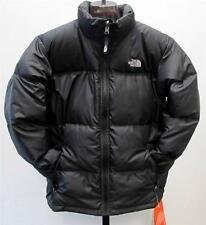 NEW JUNIORS BOY'S THE NORTH FACE NUPTSE JACKET BLACK LARGE (600 DOWN)