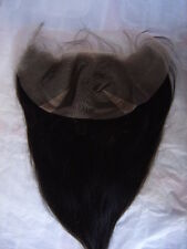 """black brown hair lace frontal 100% human hair 4x13"""" 10-20"""" unbranded straight"""