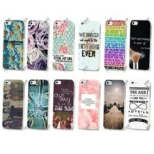 NEW ONE DIRECTION BOY BAND MUSIC LYRICS HARD CASE COVER FOR APPLE IPHONE 4 5 5S