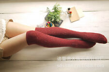 Sale! 1 Pair Women's Knee High Wool Socks for Fall/Winter/Spring One Size 7-9