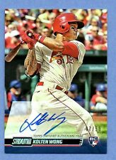 2014 TOPPS STADIUM CLUB ON CARD AUTO SINGLES U PICK COMPLETE YOUR SET