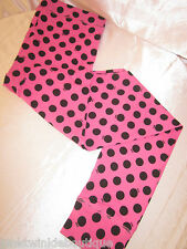 Nwt Victorias Secret Leggings Casual Pants Sleep Bottoms Polka Dot PiNK M