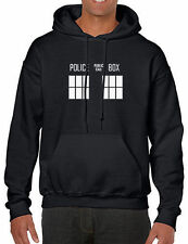 Police Box Dr Who Kids Hooded Sweatshirt Hoodie Dalek Tardis Doctor BBC