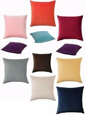 """NEW IKEA SANELA COTTON VELVET CUSHION COVER SOFT TO TOUCH 20""""x 20""""FREE SHIPPING"""