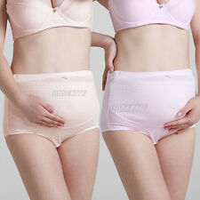 New Maternity Pregnancy Cotton Underwear Over Bump Support Tummy Pantie Briefs