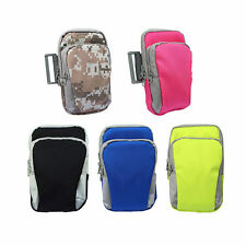Outdoor Arm Band Cycling Running Sport Wrist Wallet iPhone Cell Key Pouch Bag