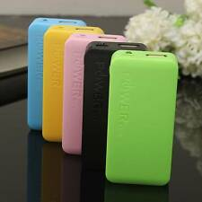 External LED USB Power Bank Backup Mobile Charger Case 18650 Battery Pack Box