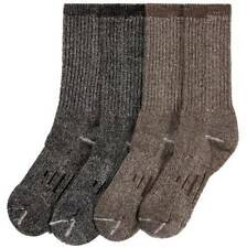 4 PACK MERINO WOOL BLEND OUTDOOR TRAIL Kirkland Signature SOCKS Mens, Med or Lg