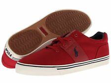 POLO RALPH LAUREN 816508022005 HAMILTON Men's Red Casual Lifestyle Shoes