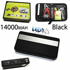 12V 8000 140000mAh Car Portable Jump Starter Mini Power Bank Led Battery Charger