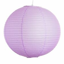"""Light Purple Paper Party Wedding Lanterns - 12"""", 16"""" and 20"""" sizes"""