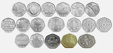 Rare 50p Coins Commemorative and Regional Fifty Pence Coins (1997-2014) 50p Coin