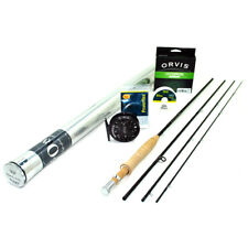 """NEW - Orvis Superfine Carbon Fly Rod Outfit 4wt 7'0"""" - FREE SHIPPING!"""