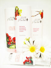 100% Pure Moisturizers-  Super Fruits, Red Wine, Vit A & CoQ10, or Coffee Cherry
