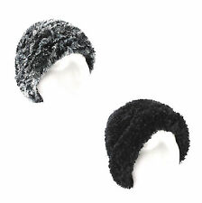 Croft & Barrow Feather Chenille Winter Hat for Women - Cold Weather - One Size