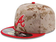 Official MLB 2014 Atlanta Braves Memorial Day Stars Stripes New Era 59FIFTY Hat