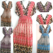 PLUS SIZE Women Long Maxi summer beach party evening casual V-NECK sundress SEXY