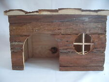WOODEN PET HOUSES FOR GERBILS,GUINEA PIGS,CHIPMUNKS,HAMSTERS,RABBITS,CHINCHILLAS
