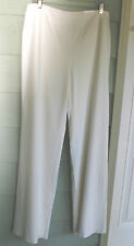 NWT $90 Coldwater Creek Easy Crepe Lined Pant Ivory 8,14,16,18,20-22,24 Long/Reg