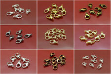 15pcs 14mm Jewelry Lobster Clasps Silver Gold Bronze Plated