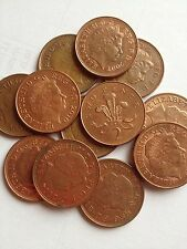 2p 2 Pence Two Pence Coin Queen Elizabeth II  From 1971-2014