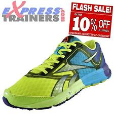 Reebok Womens One Cushion Premium Running Shoes Gym Trainers Yellow *AUTHENTIC*
