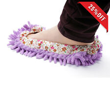 2PC Dust Floor Cleaning Slippers Shoes Mop House Clean Shoe Cover Multifunction