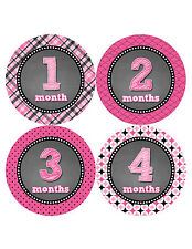 Baby Girl Monthly Baby Stickers Style #422