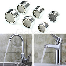 Kitchen Faucet Tap Water Saving Male/Female Aerator Chrome Nozzle Sprayer Filter