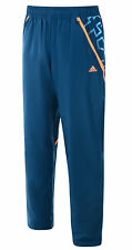 Mens New Adidas F50 Tracksuit Jogging Bottoms Joggers Track Pants - Blue