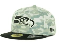 Official Seattle Seahawks New Era NFL Cover 2 Tone 59FIFTY FItted Hat
