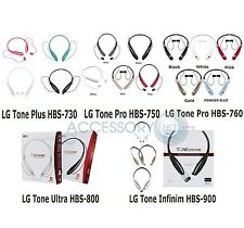 Genuine LG 730 Tone + Pro Ultra LG900 Infinim Wireless Bluetooth Stereo Headset