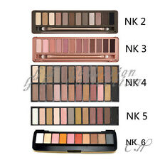 NEW 12 Color Eye Shadow Makeup Cosmetic Shimmer Matte Eyeshadow Palette