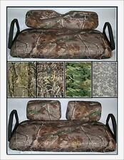 CAMO Camouflage - NO STAPLING - Club Car - EZGO - Yamaha - Golf Cart Seat Covers