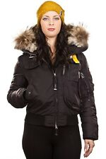 Parajumpers Womens Gobi Winter Jacket Black MA31 541 Sz L