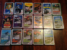Vintage Waddingtons Top Trumps Individual Horror Doctor Who Cars Football Space
