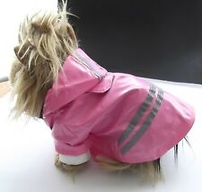 Raincoats for small dogs