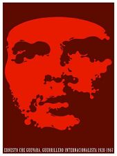 High Quality POSTER on Paper or Cotton Canvas.Art.Che Guevara Guerrillero.4082