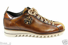 HARRIS buff leather sneakers SS 15 scarpe basse in pelle cuoio P/Estate 2015