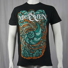 Authentic OF MICE AND MEN Nautilus Conch Logo T-shirt S M L XL 2XL NEW