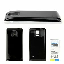New 8000mAh Extended Battery + Cover For Samsung Galaxy Note 4 N9100 EB-BN910BBK