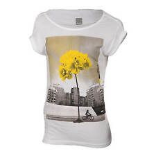 Bench T-Shirt Damen Flyor T Shirt weiß