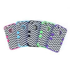 Chevron Wave Hybrid Hard Impact Case Cover for Apple Iphone 4 4s 4g sale Cute