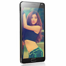 """Note4 Style 5.7 """" Android 4.4 3G Air Gesture 13 MP 8GB Q"""
