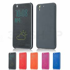 NEW Dot Matrix Case Cover For HTC Desire EYE & HTC One M8 + Screen Protector